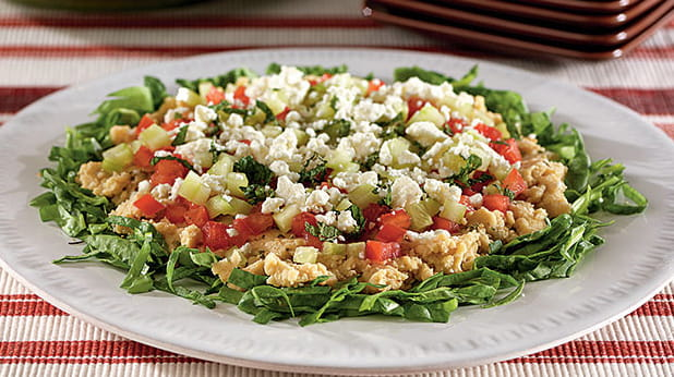 Greek Seven Layer Dip