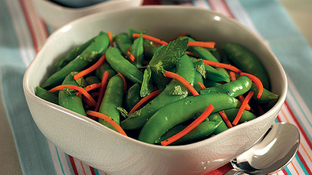 Minted Sugar Snap Peas