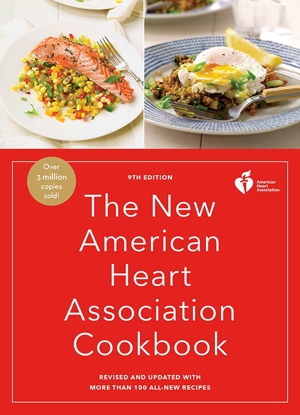 The American Heart Association Cookbook cover