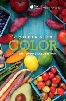 Cooking in Color cookbook cover