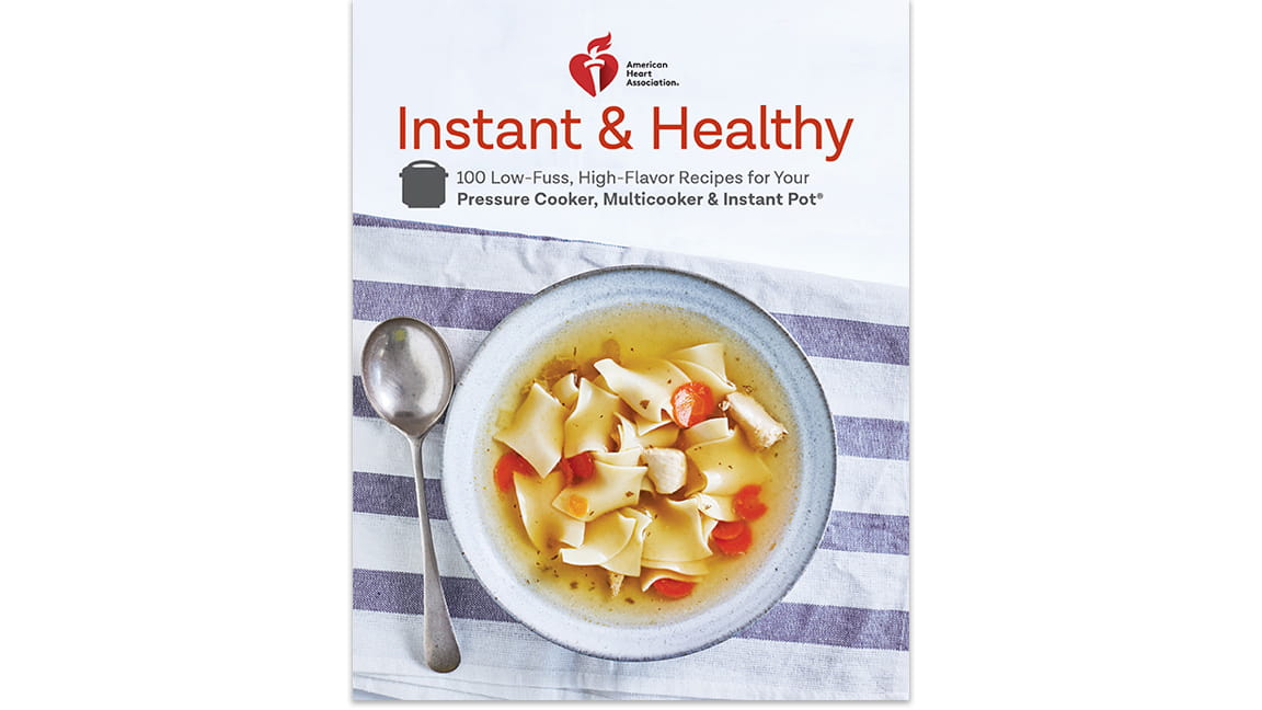Instant and Healthy Cookbook Cover