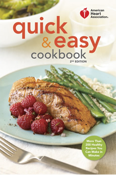 Recipes american heart association quickandeasy2ndeditioncookbook forumfinder Image collections