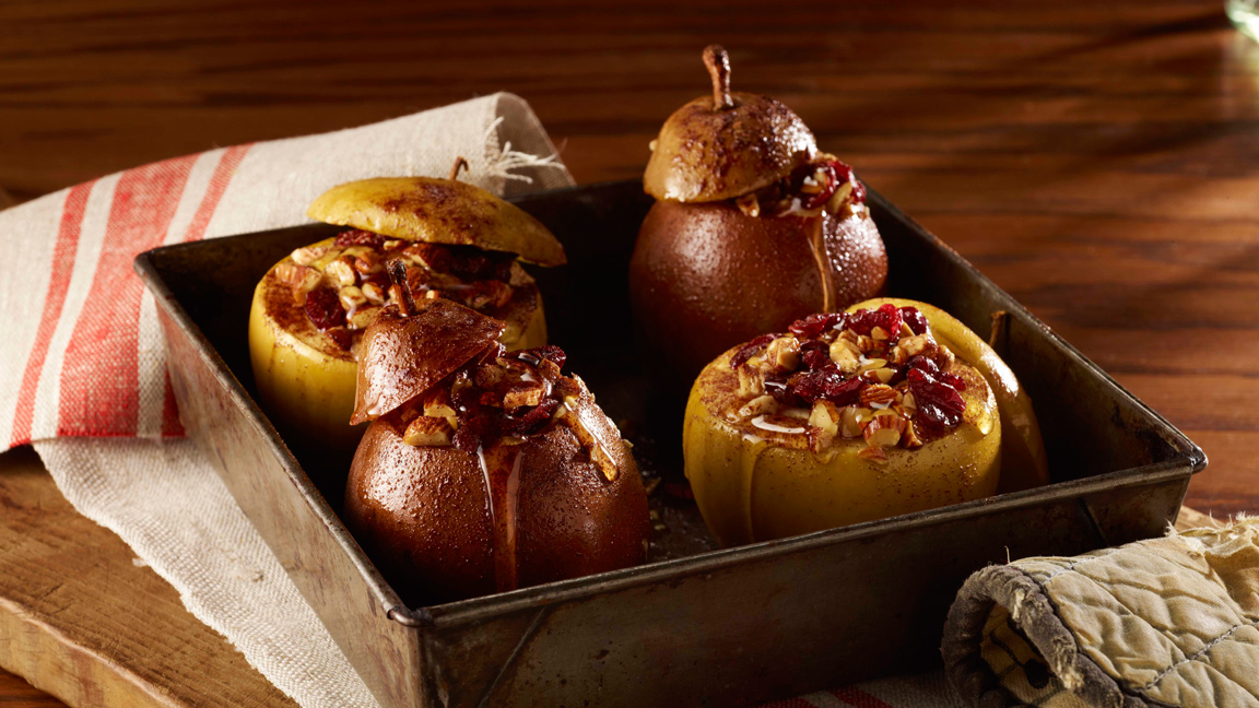 Baked Apples And Pears With Almonds American Heart Association Recipes