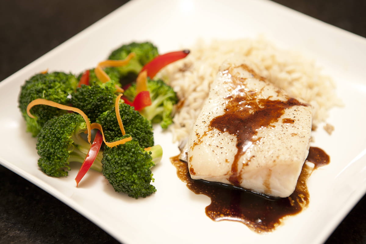 Balsamic Glazed Fish
