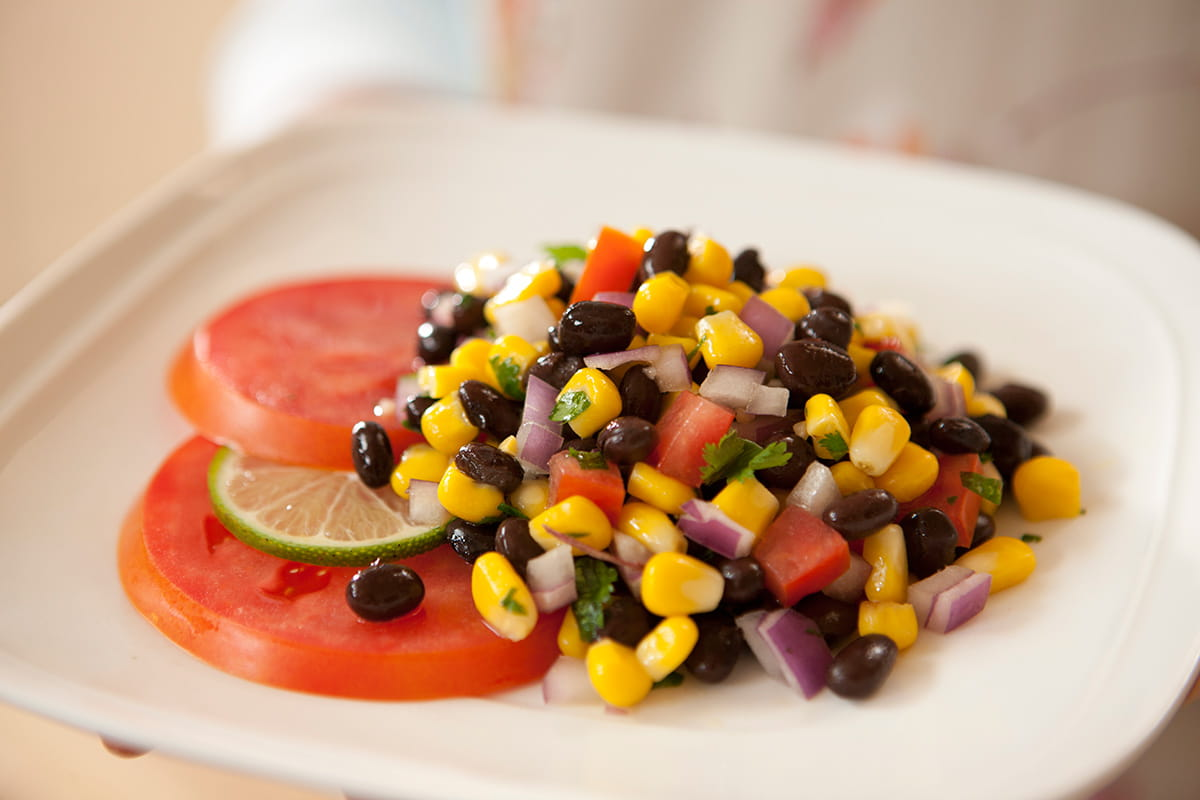 Black Bean Salad (or Salsa)