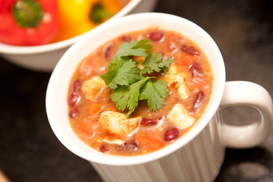 Quick Chicken Chili