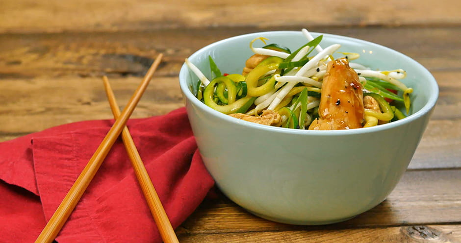Chicken Zoodle Lo Mein