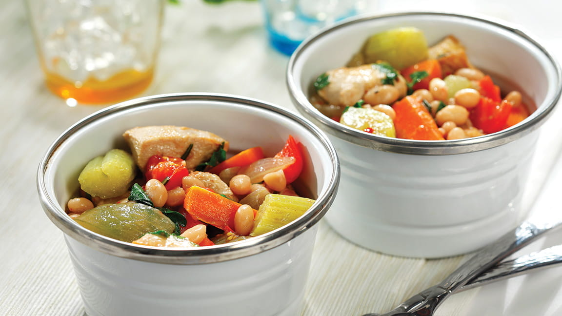 Chunky Chicken, Vegetable and Rosemary Stew