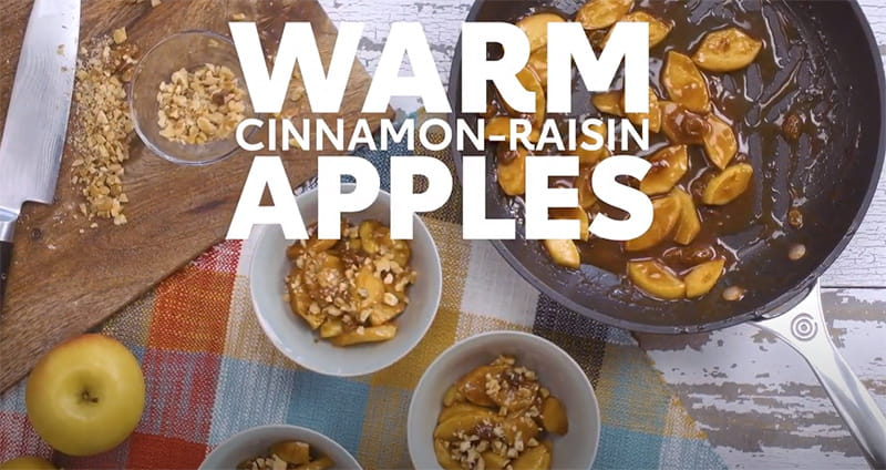 Cinnamon-Raisin Apples recipe