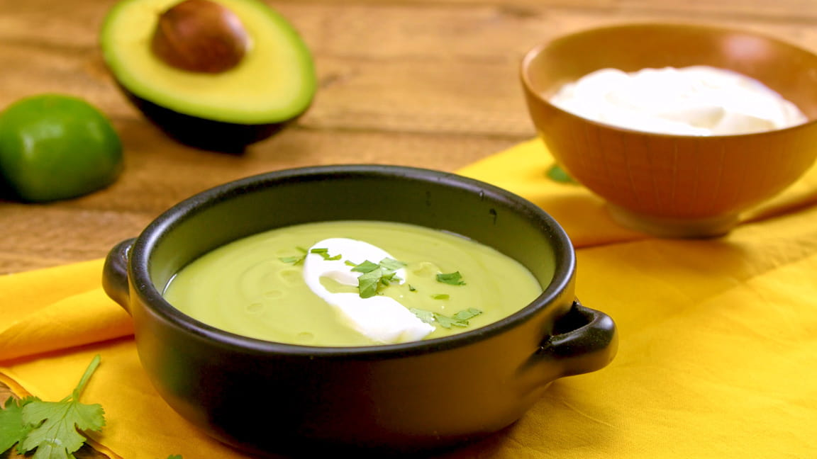 Columbian Cream of Avocado Soup