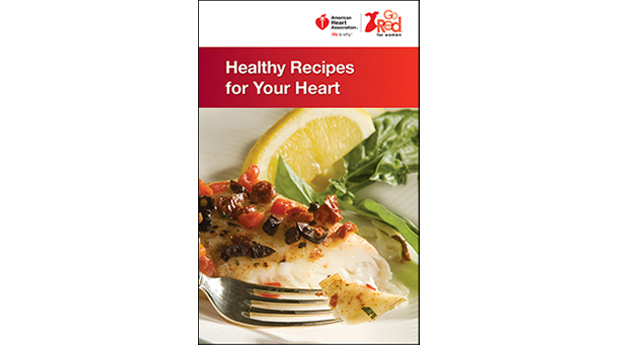 Healthy Recipes for your heart cookbook