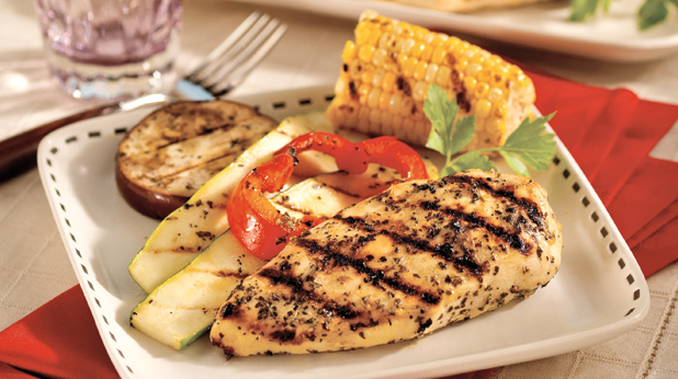Grilled Chicken With Vegetables American Heart Association