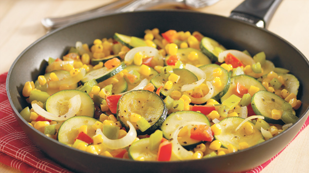 Herbed Vegetable Skillet