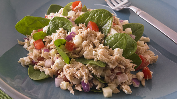 Mediterranean Tuna Chef Salad
