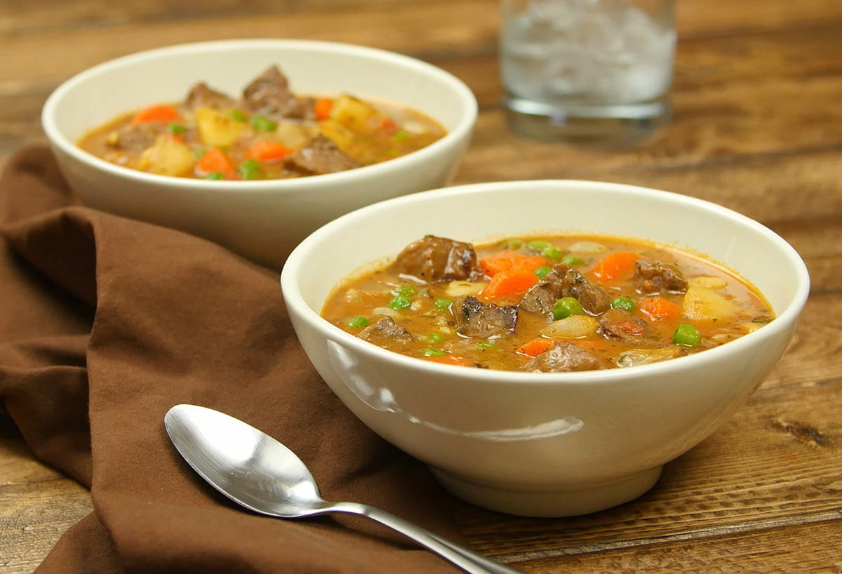 Slow-Cooker Harvest Beef Stew