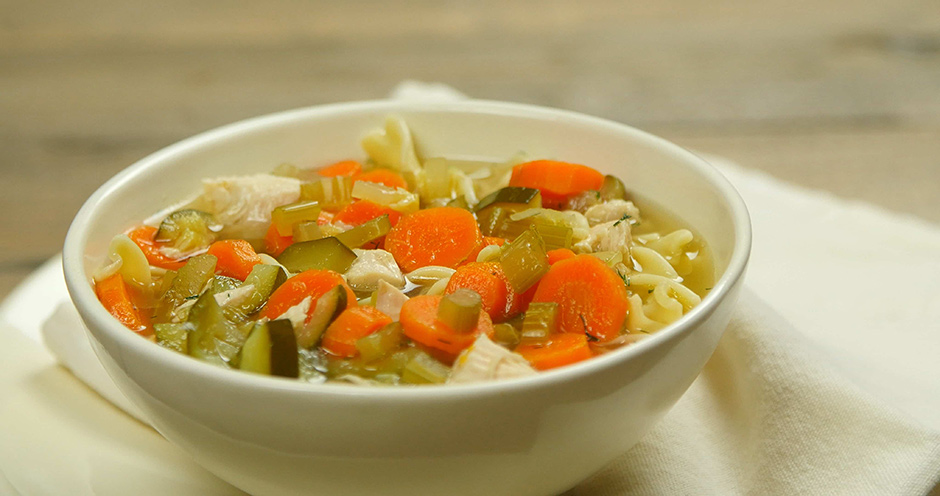 chicken base soup recipe