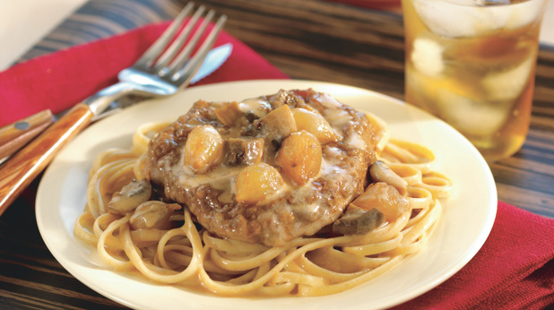 Slow Cooker Steak Stroganoff