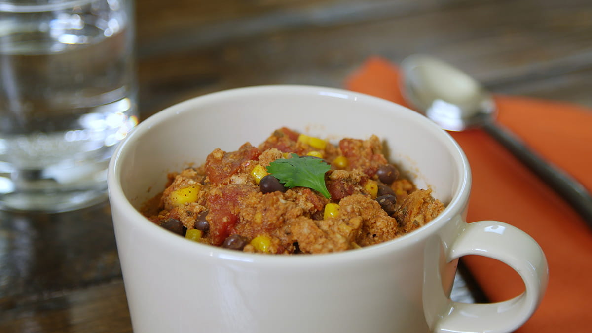Slow Cooker Turkey And Black Bean Chili Or Vegetarian 3 Bean Chili American Heart Association Recipes