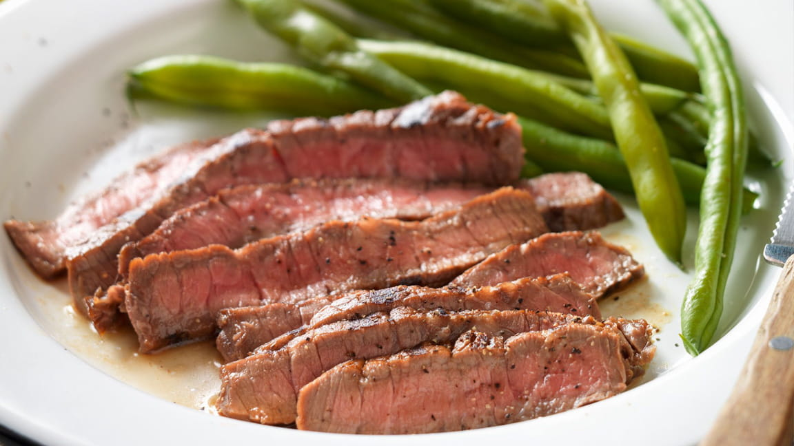 Tangy Lime Grilled Beef top Round Steak