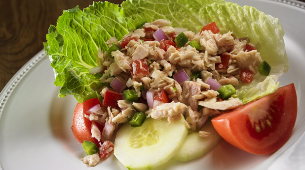 Tuna Salad with Pico de Gallo
