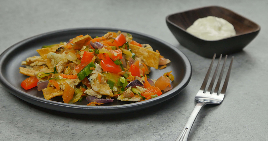 Vegetable Migas