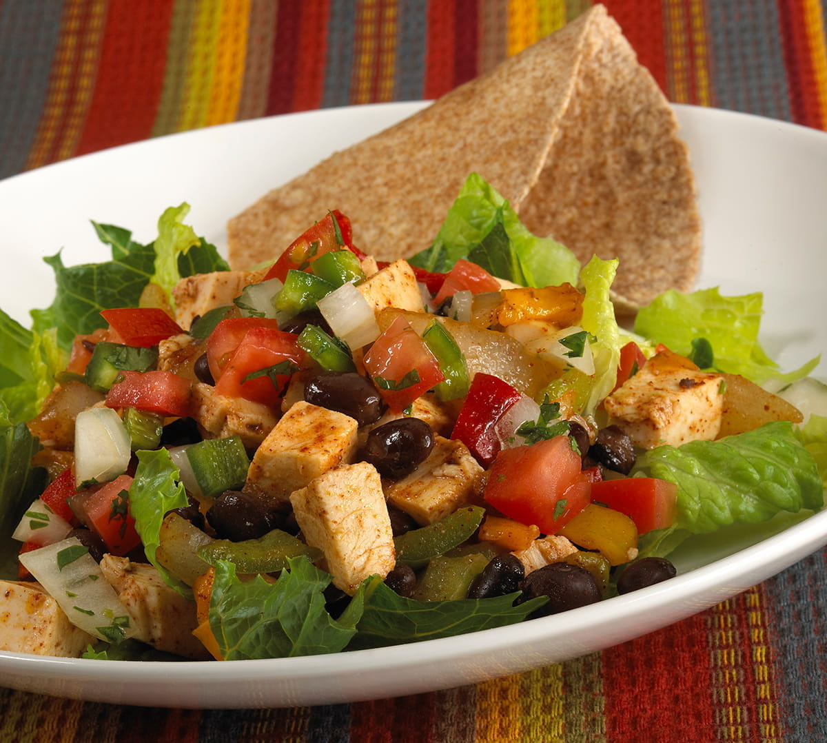 Zippy Southwest Chicken Fajita Salad