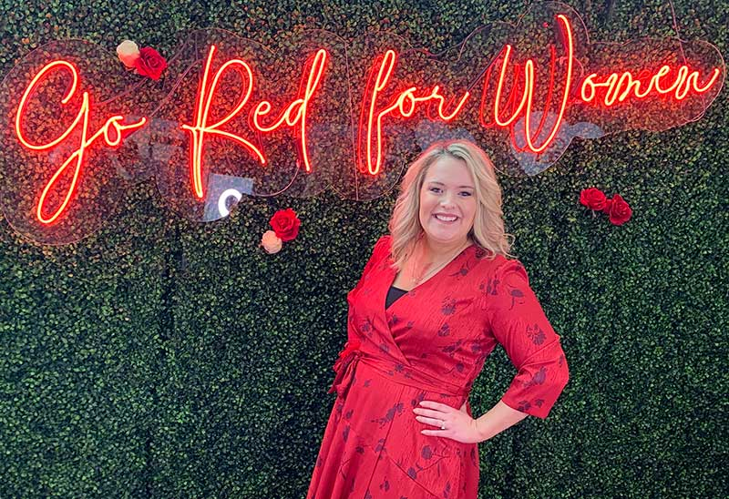 Go Red for Women Real Woman Meredith O'Neal