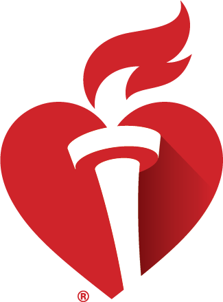 AHA Heart and Torch logo