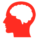 red brain icon