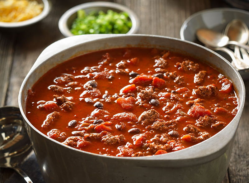 Beef And Black Bean Chili American Heart Association Recipes