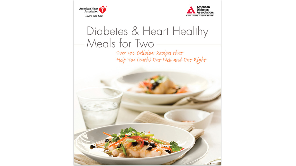 Diabetes and Heart Healthy Meals for Two Cover