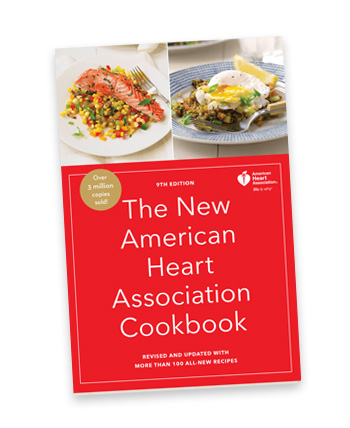 New American Heart Association Cookbook cover
